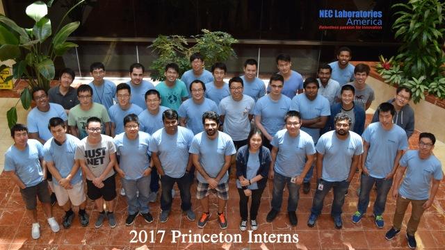 2017 Princeton Interns